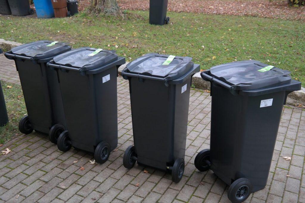 paper shredding bins