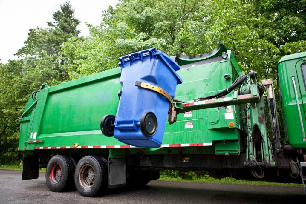 mobiel paper shredding truck