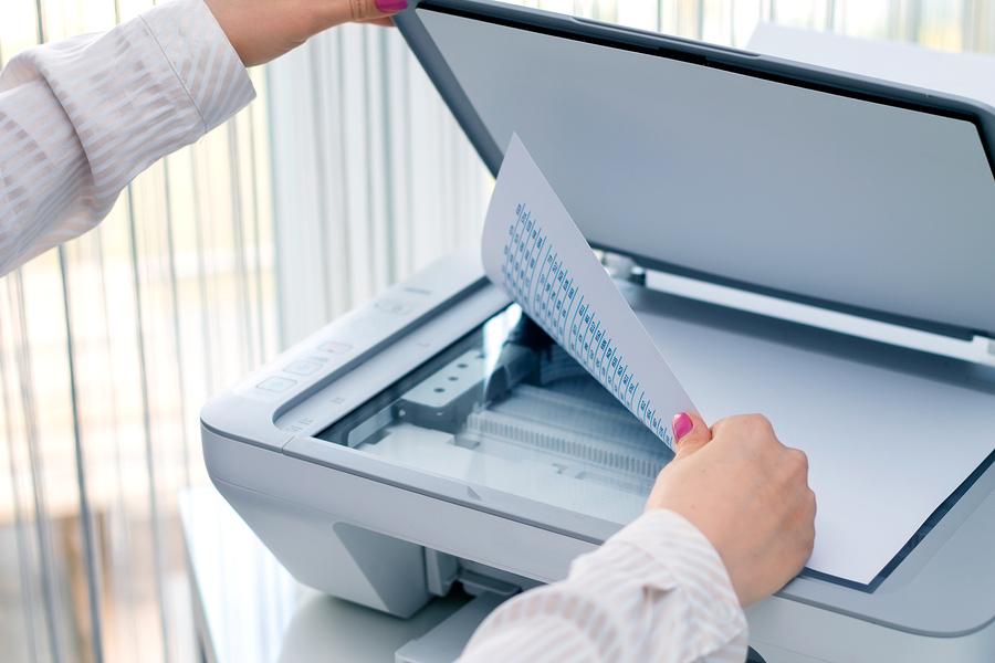 document scanning machine